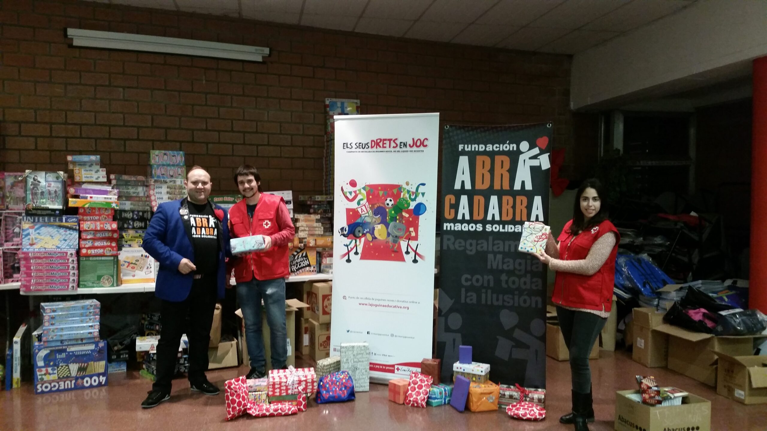 Cruz Roja Campaña Juguetes